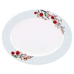 Simply Fine Lenox® Chirp Stripe 16-Inch Oval Platter