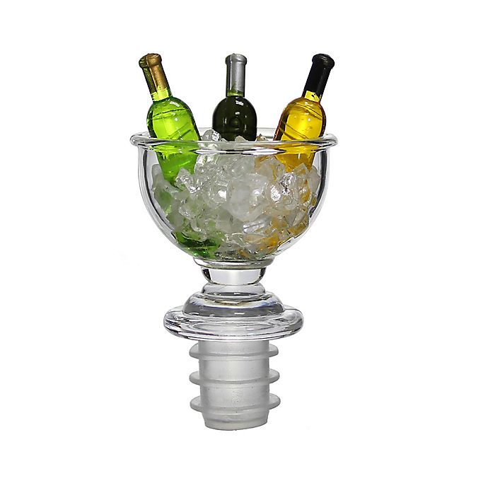 Alternate image 1 for Prodyne Big Wine Bowl Bottle Stopper