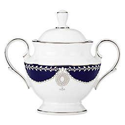 Marchesa by Lenox® Empire Pearl Indigo Covered Sugar Bowl