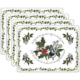 Pimpernel Holly & Ivory Placemats (Set of 4)