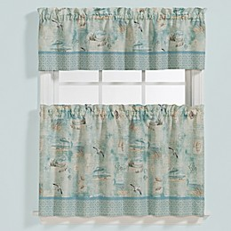 High Tide Window Curtain Tier Pair
