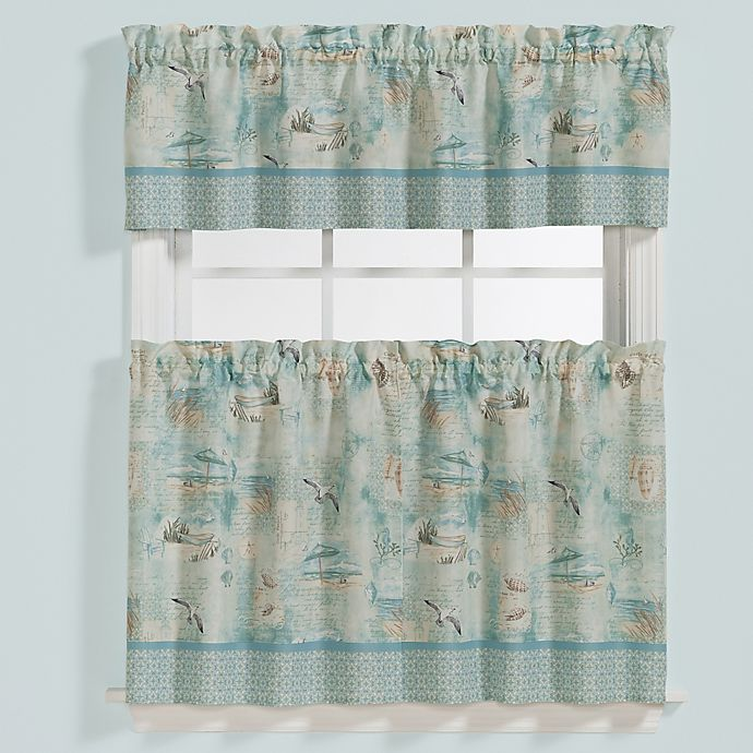 Alternate image 1 for High Tide Window Curtain Valance