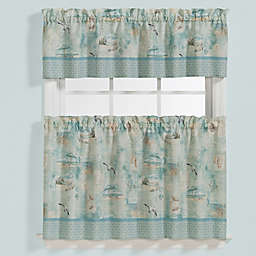 High Tide Window Curtain Tier Pair