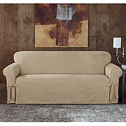 Sure Fit® Designer Sueded Twill Furniture Slipcovers
