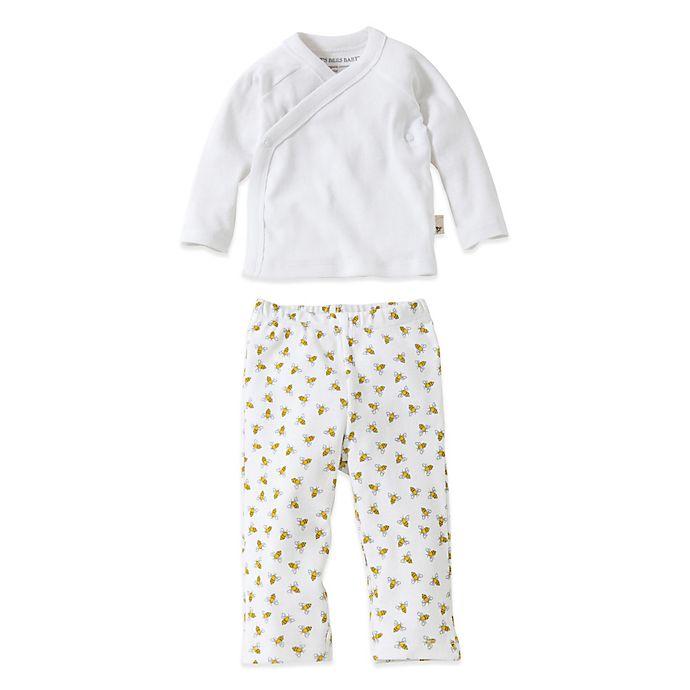 Burt s Bees Baby® Size 0-3M 2-Piece Organic Cotton Kimono and Footless Pant  Set c05b85df0