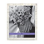 Argento Sweetheart Mother of Pearl 8-Inch x 10-Inch Wedding Photo Frame