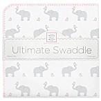Swaddle Designs® Elephant & Chicks Ultimate Swaddle in Pink
