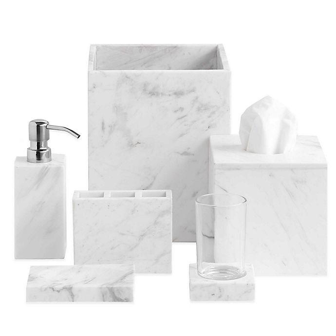 Alternate image 1 for Camarillo Marble Bath Accessory Collection