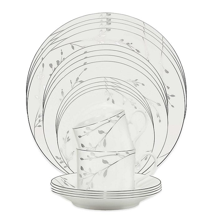 Alternate image 1 for Noritake® Birchwood 20-Piece Dinnerware Set