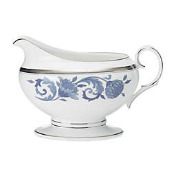 Noritake® Sonnet in Blue Gravy Boat with Tray