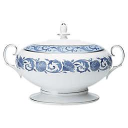 Noritake® Sonnet in Blue Covered Vegetable Bowl