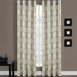 Portinari Grommet Top Window Curtain Panel