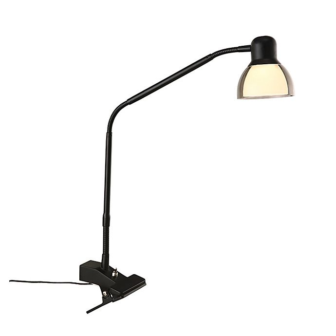 Alternate image 1 for Studio 3B™ Functional LED Clip Lamp in Matte Black