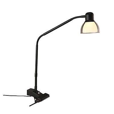Studio 3B™ Functional LED Clip Lamp in Matte Black