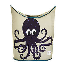 3 Sprouts Octopus Laundry Hamper in Purple
