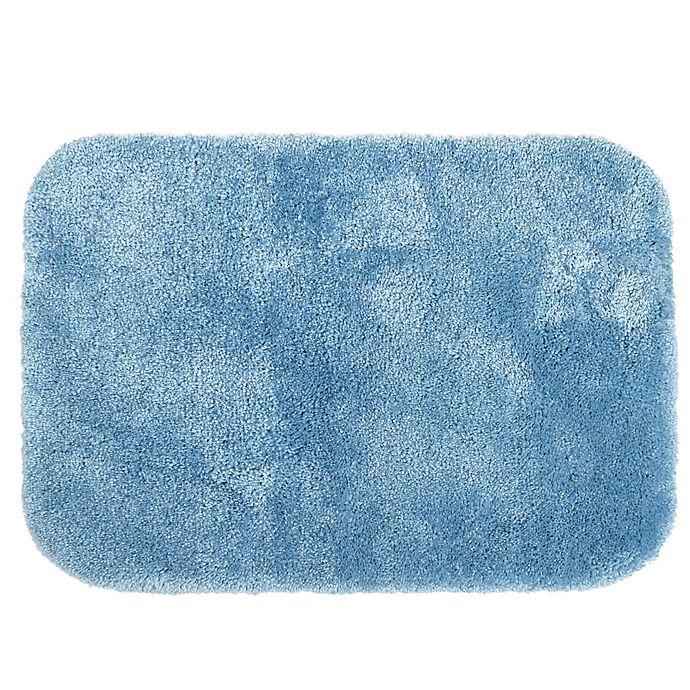 Alternate image 1 for Wamsutta® Duet 24-Inch x 40-Inch Bath Rug in Glacier
