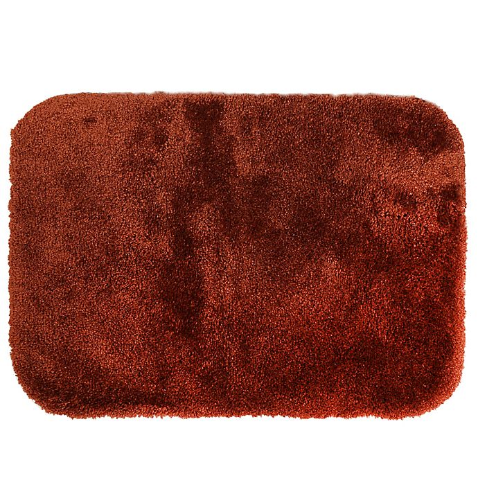 Alternate image 1 for Wamsutta® Duet 17-Inch x 24-Inch Bath Rug in Brick