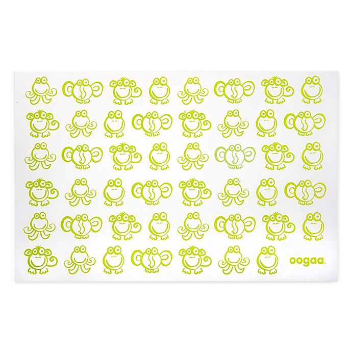 Alternate image 1 for oogaa® Reusable Silicone Placemat in Green