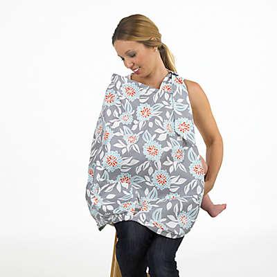 Balboa Baby® Nursing Cover in Grey Dahlia