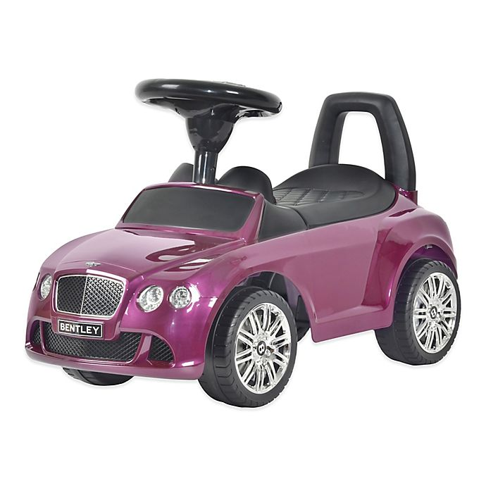 Buy Licensed Bentley Continental GT Push Car In Purple