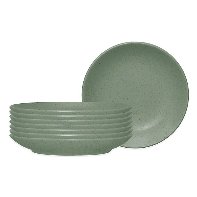 Alternate image 1 for Noritake® Colorwave Side/Prep Dishes in Green (Set of 8)