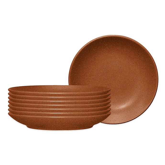 Alternate image 1 for Noritake® Colorwave Side/Prep Dishes in Terra Cotta (Set of 8)