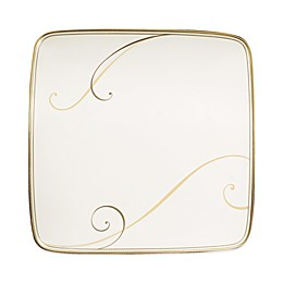 Noritake® Golden Wave Small Square Accent Plate