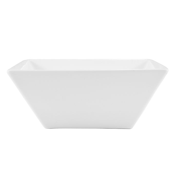 Alternate image 1 for Nevaeh White® by Fitz and Floyd® Hard Square All Purpose Bowl
