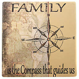 "Thirstystone® Square Occasions ""Family Is..."" Coaster"