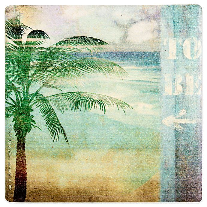 Alternate image 1 for Thirstystone® Occasions By the Sea Square Coaster