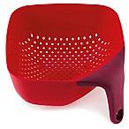 Joseph Joseph® Medium Square Colander in Red
