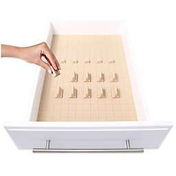 KMN Home DrawerDecor 16-Piece Customizable Drawer Organizer in Natural