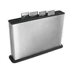 Joseph Joseph® 100 Series 5-Piece Stainless Steel Index Chopping Boards Set