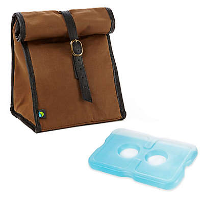 Fit & Fresh® Classic Insulated Lunch Bag with Ice Pack in Brown