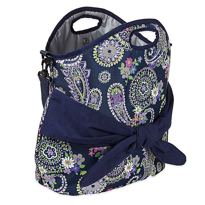 Alternate image 1 for Fit & Fresh® Maui Insulated Beach Tote in Blue