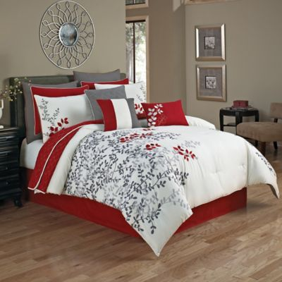 Portola 12 Piece Comforter Set Bed Bath And Beyond Canada