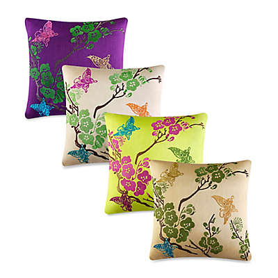 J by J. Queen New York Carla Square Throw Pillow