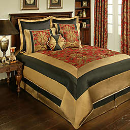 Sherry Kline Milano Comforter Set in Red