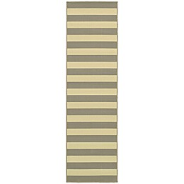 Cabana Bay Villa Stripe Indoor/Outdoor Rug