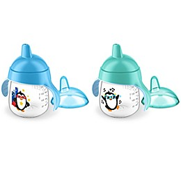 Philips Avent My Penguin 2-Pack 9 oz. Sippy Cup