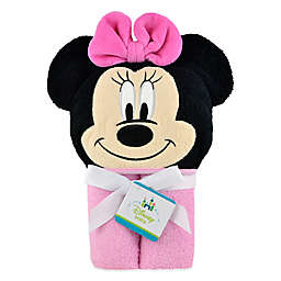 Disney® Minnie Mouse Hooded Towel in Pink