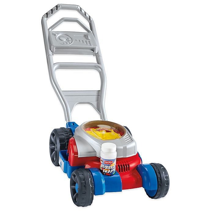 Fisher Price Bubble Mower In Redblue Buybuy Baby