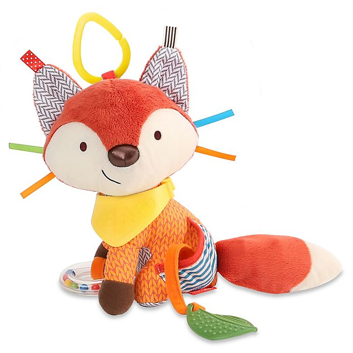 Alternate image 1 for SKIP*HOP® Fox Bandana Buddies Activity Toy