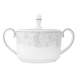 Vera Wang Wedgwood® Vera Chantilly Lace Imperial Sugar in Grey