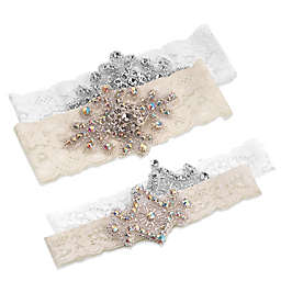 Lillian Rose™ 2-Piece Jeweled Garter Set