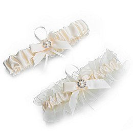 Lillian Rose™ Pearl Garters in Ivory (Set of 2)