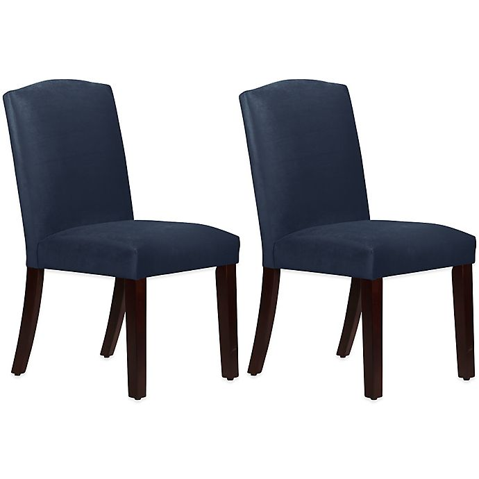 Alternate image 1 for Skyline Furniture Diana Arched Dining Chairs (Set of 2)