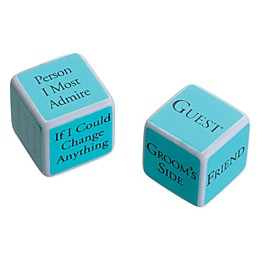 Lillian Rose™ Bridal Shower Game Dice