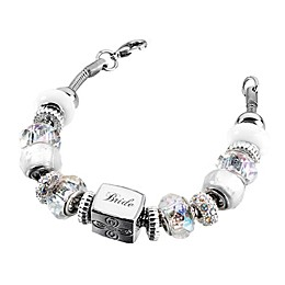 Lillian Rose™ Bride Charm Bracelet