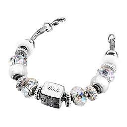 Lillian Rose™ Bride Charm Bracelet